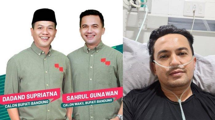 Sahrul Gunawan Dirawat di RS Pasca Pilkada Kabupaten Bandung, Dede Yusuf Sebut: Kecapekan Kampanye
