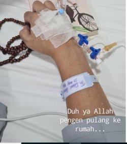 Sahrul Gunawan Terbaring di Rumah Sakit_1