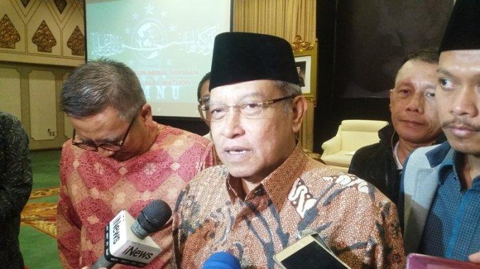 PBNU Imbau Warga Nahdliyin Gelar Salat Idul Fitri 1442 Hijriyah di Rumah Masing-Masing