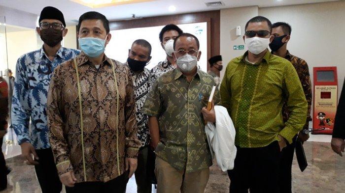 Said Didu memenuhi panggilan Bareskrim Polri, Jumat (15/5/2020). (Tribunnews.com/Theresia Felisiani)