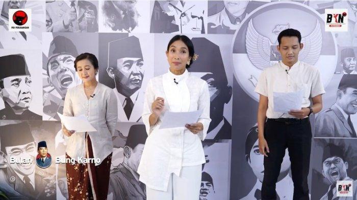 Kala Happy Salma dan Widi Mulia Membedah Sajak Bung Karno