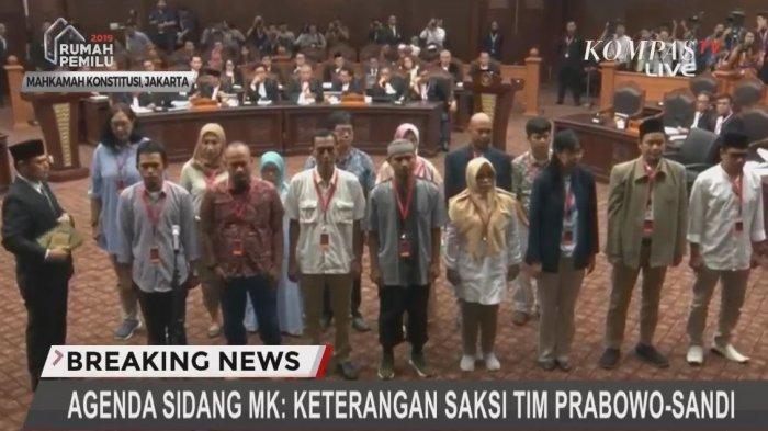 Fakta dan Rangkuman Sidang Sengketa Pilpres 2019: BW Usir Tim Kuasa Hukum KPU, Hakim Tegur Tim 01