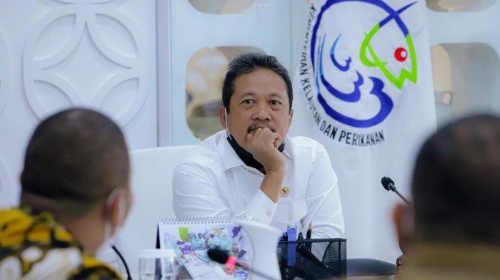 Menteri Trenggono Takjub dengan Penghasilan Pembudidaya di Telong Elong