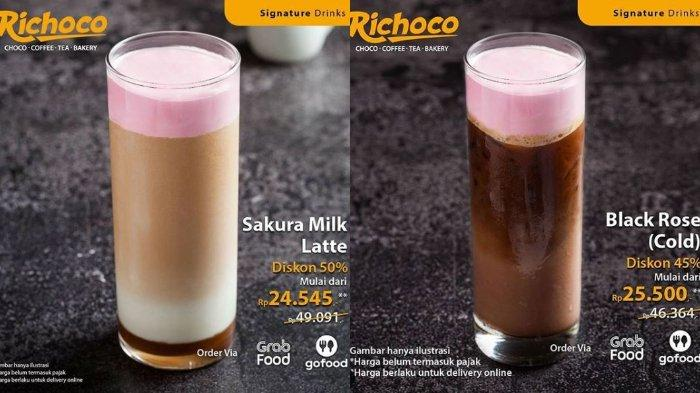Richeese Promo Menu Minuman Sakura Milk Latte, Diskon hingga 50% Harga Mulai Rp 24 Ribuan