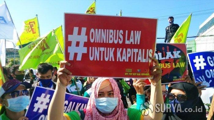 Sudah Disahkan, Naskah Omnibus Law UU Cipta Kerja Masih Belum Final, Baleg: Sedang Kita Rapikan