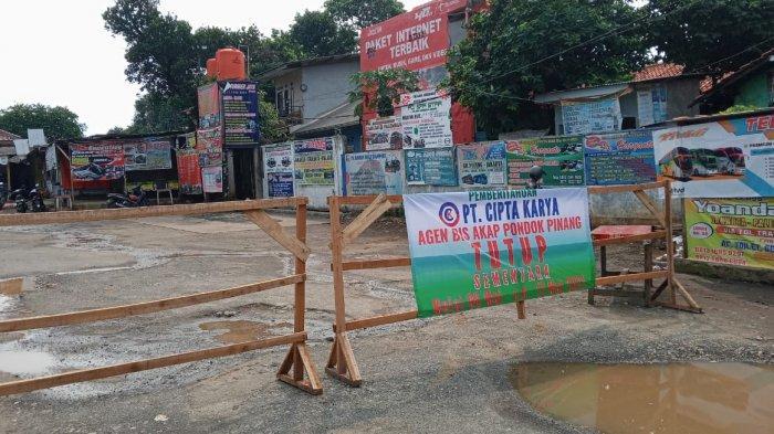 Ikuti Peraturan Pemerintah, Pool Bus AKAP Pondok Pinang Berhenti Beroperasi
