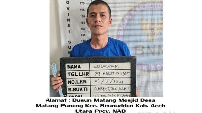 Siram Petugas Pakai Air Cabai, Enam Tahanan Narkoba Kabur dari Sel BNN Sumut, Berikut Identitasnya