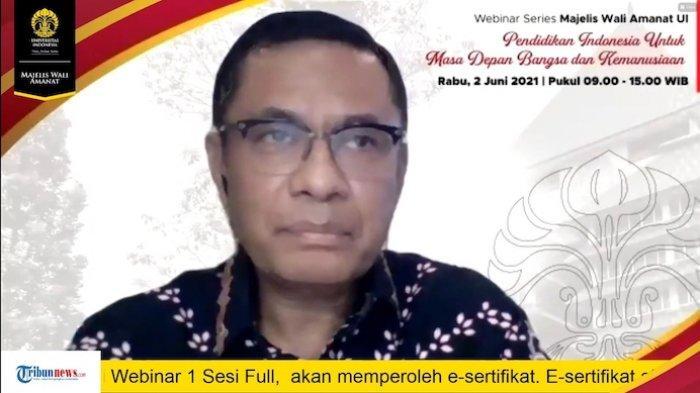 MWA UI Gelar Webinar Pendidikan Indonesia untuk Masa Depan Bangsa dan Kemanusiaan
