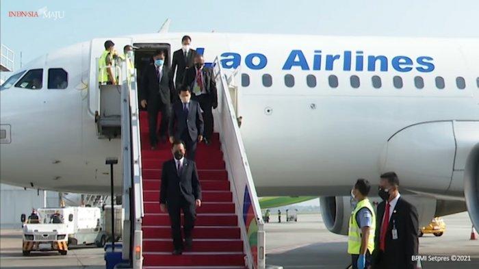 Menteri Luar Negeri Laos Tiba di Indonesia Hadiri ASEAN Leaders' Meeting