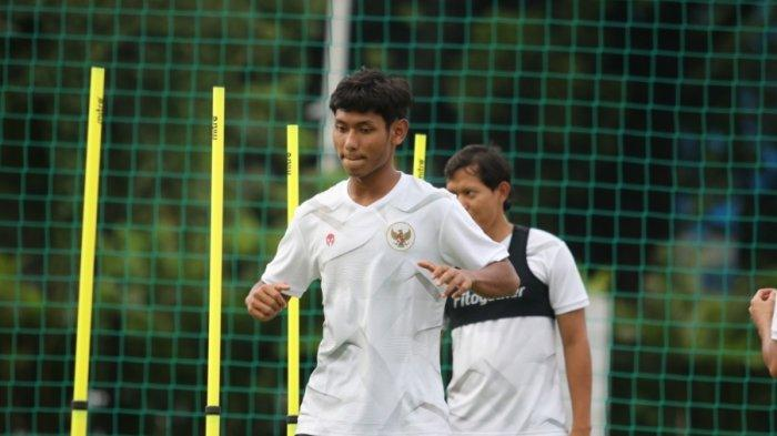 Salman Alfarid pemain Persija Jakarta dipanggil TC Timnas Indonesia