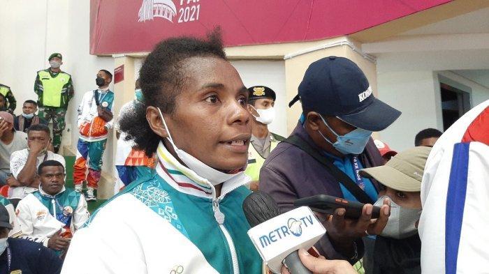 Salomina Yarisetouw Petinju Putri Papua Bersyukur Bisa Raih Emas PON XX Papua