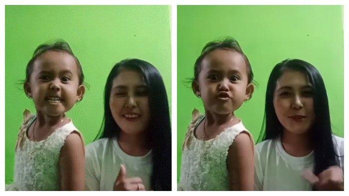Salsabila Caca Si Kecil Yang Viral Di Medsos Berkat Video Tiktok Lipsync Lagu Berbeza Kasta Tribunnews Com Mobile