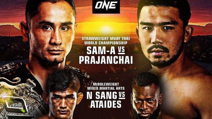 Sam-A Akan Mempertahankan Sabuk Juara Dunia ONE Strawweight Muay Thai Melawan Prajanchai