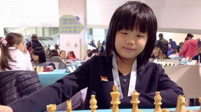 Samantha Editso Juara Dunia Catur Klasik World Cadets Chess Championships 2018 U10 Girls