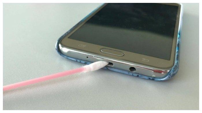 Sambungan charger handphone