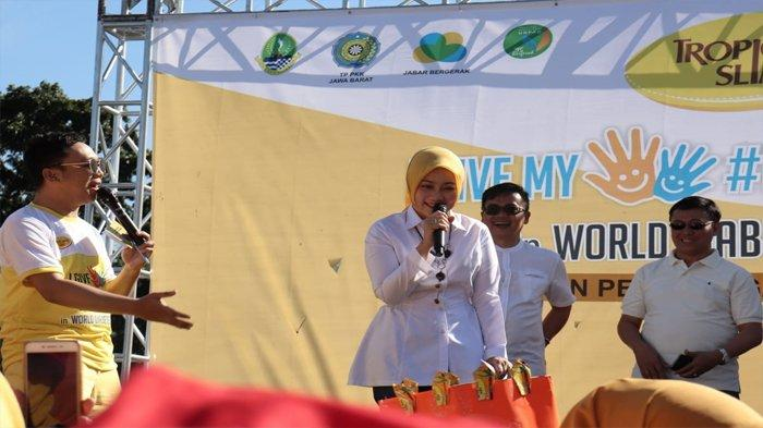 Sambutan Ketua Umum TP PKK Provinsi Jawa Barat, Atalia Praratya
