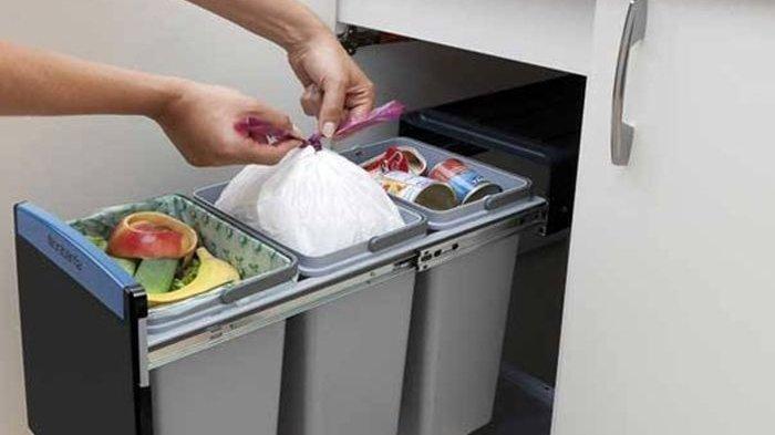 Tak Lagi Kotor dan Keluarkan Aroma Tak Sedap, Yuk Kreatif Mengolah Sampah di Dapur