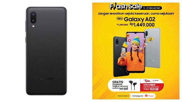 Samsung Galaxy A02.