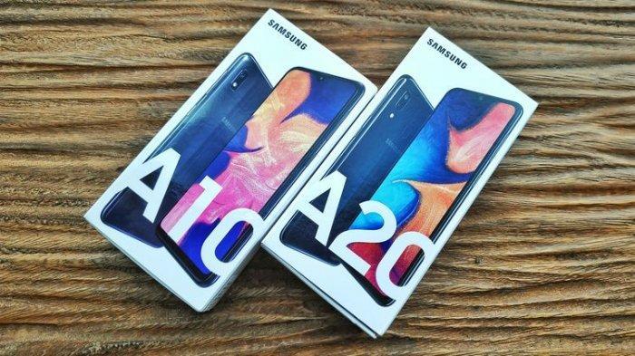 Samsung Galaxy A10 dan Galaxy A20