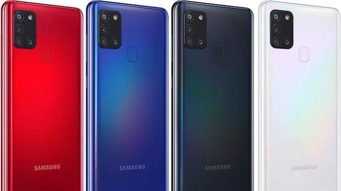 Update Harga Hp Samsung Juli Lengkap Dengan Spesifikasi Samsung Galaxy A21s Terbaru 2020 Tribunnews Com Mobile
