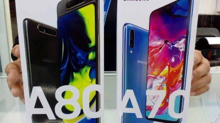 IlustrasiUpdate Harga HP Samsung Terbaru Mei 2020, Galaxy A70 Rp 5,9 Jutaan, Galaxy A51 mulai Rp 4,8 Jutaan (TRIBUN JATENG/ IDAYATUL ROHMAH)