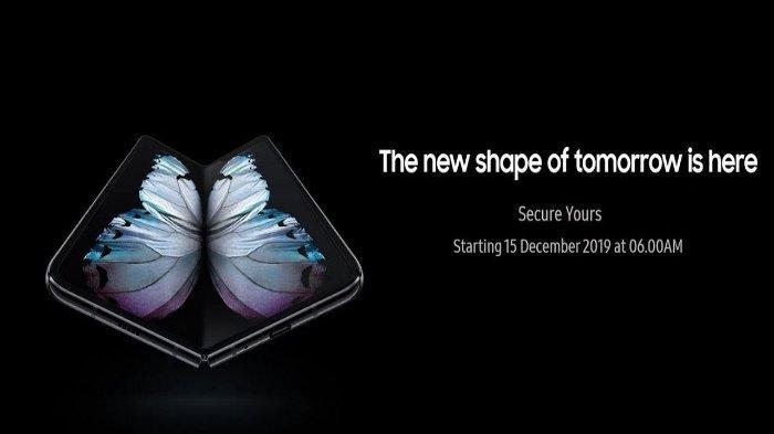 Samsung Electronics Indonesia telah membuka kembali pre order Samsung Galaxy Fold pada hari Minggu (15/12/2019) kemarin.