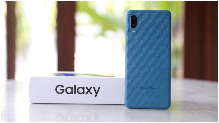 Samsung Galaxy M02.