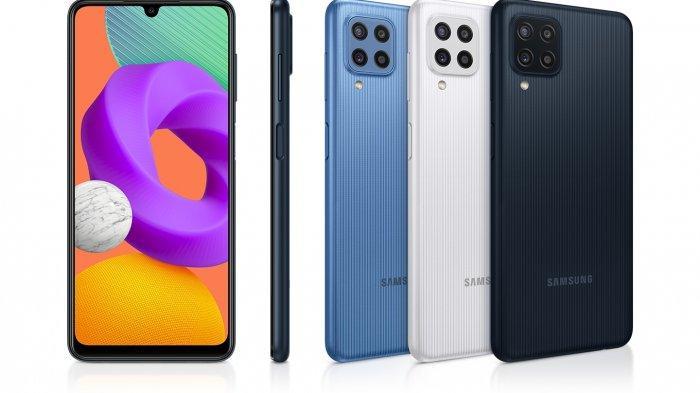 Desain Samsung Galaxy M22.
