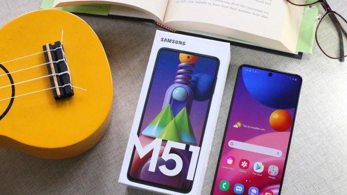 Samsung Galaxy M51 di Indonesia