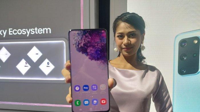 Samsung Galaxy S20 yang diluncurkan di Jakarta, Rabu, 4 Maret 2020.