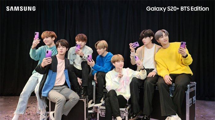 Samsung Rilis Galaxy S20+ BTS Edition, Berikut Spesifikasi dan Daftar Harga HP Samsung Juni 2020