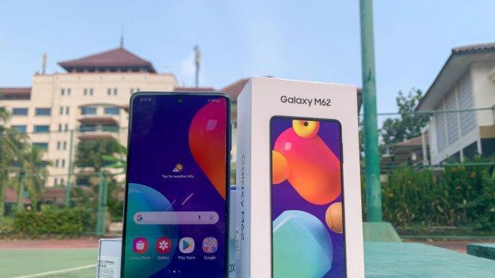 Punya Baterai 7000 mAH, Samsung Galaxy M62 Bisa Jadi Power Bank Multi Device
