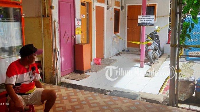 Samuel Kapia (26), seorang penjaga kos suami istri tewas di Manado.