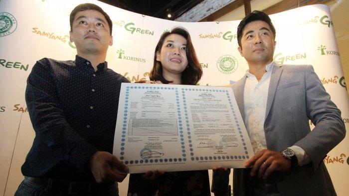 Mie Samyang: Samyang Food Korea memperoleh Sertifikat Halal dari LPPOM MUI
