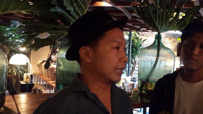 Sandhy Sonoro di Sarinah, Jakarta, Rabu (5/9/2018).