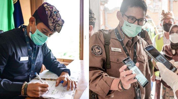 Menparekraf Sandiaga Uno Berkantor di Bali dalam Beberapa Hari, Ini Alasannya