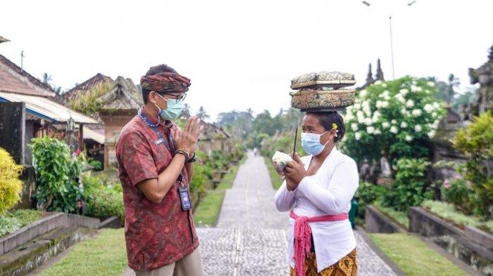 Sadiaga Uno  : Program Padat Karya di Bali Ciptakan Lapangan Pekerjaan Seluas-luasnya