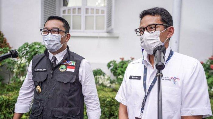 Usai Bertemu Ridwan Kamil, Sandiaga Uno Dukung KEK Pariwisata Sukabumi
