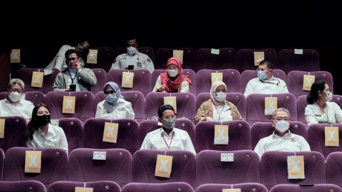Sandi Ajak Masyarakat Kembali Nonton Bioskop untuk Geliatkan Industri Film Nasional
