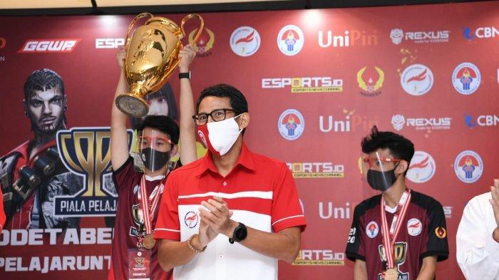 Sandiaga: Potensi Esport Menjanjikan untuk Ciptakan Lapangan Pekerjaan