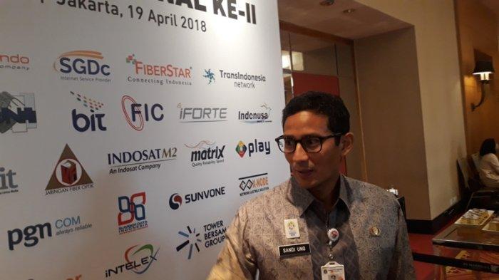 Sandi Sebut Proyek Galian Fiber Optik Penyebab Kemacetan Jakarta