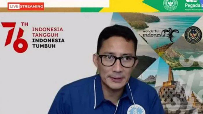 Sandiaga Optimis UMKM Bisa Bangkitkan Pariwisata dan Ekonomi Kreatif, Syaratnya Gercep dan Gaspol