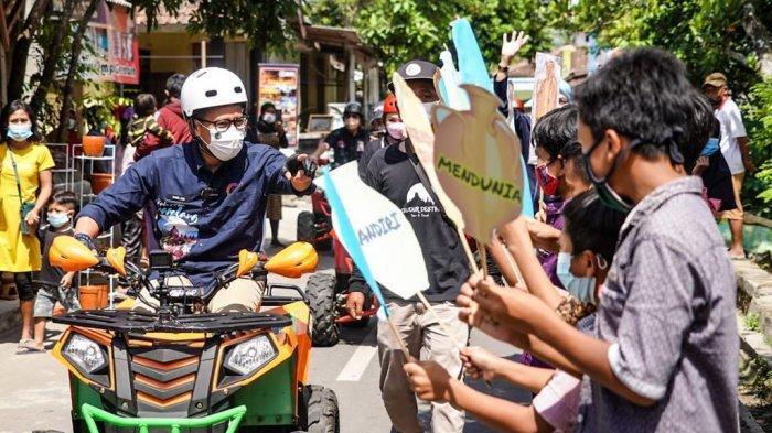 Sandiaga Uno : Produk Kreatif Lokal Jadi Modal Temanggung Mengembangkan Pariwisata Berkelas Dunia