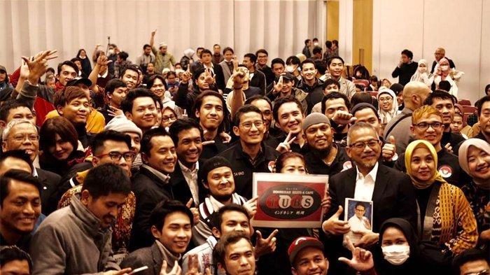 Para pemagang Indonesia di Osaka bertemu dengan Sandiaga Uno