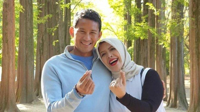 Sandiaga Uno dan Nur Asia liburan ke Korea Selatan