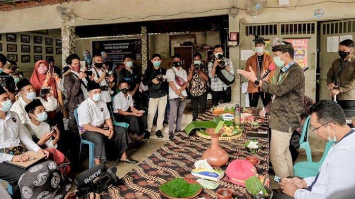 Sandiaga Dorong Daya Tarik Desa Wisata Bilebante Lombok Tengah Sebagai Destinasi Favorit Wisatawan