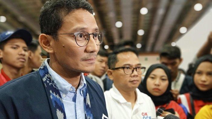 Garuda Indonesia Beri Sandiaga Uno Uang Rp 100 Ribu, untuk Apa?