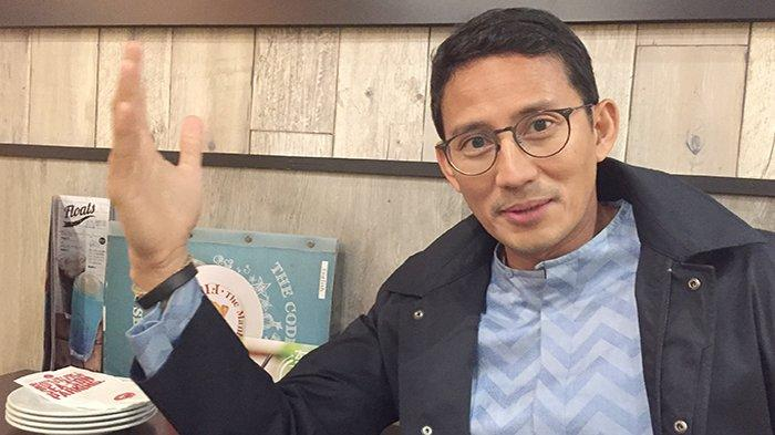 Sandiaga Salahuddin Uno, pengusaha dan politikus Indonesia, mantan Wakil Gubernur DKI Jakarta.