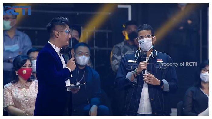 Unggah Foto Nonton Indonesian Idol, Sandiaga Uno Tulis Harapan untuk Ekonomi Kreatif Sektor Musik