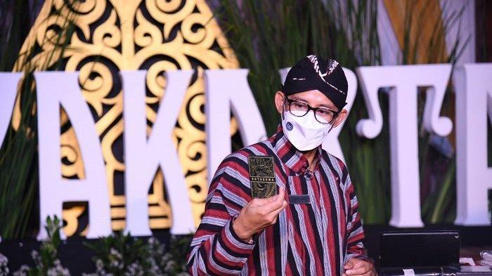 3 Jurus Sandiaga Genjot Daya Saing Pelaku Parekraf Yogyakarta di Tengah Pandemi Covid-19